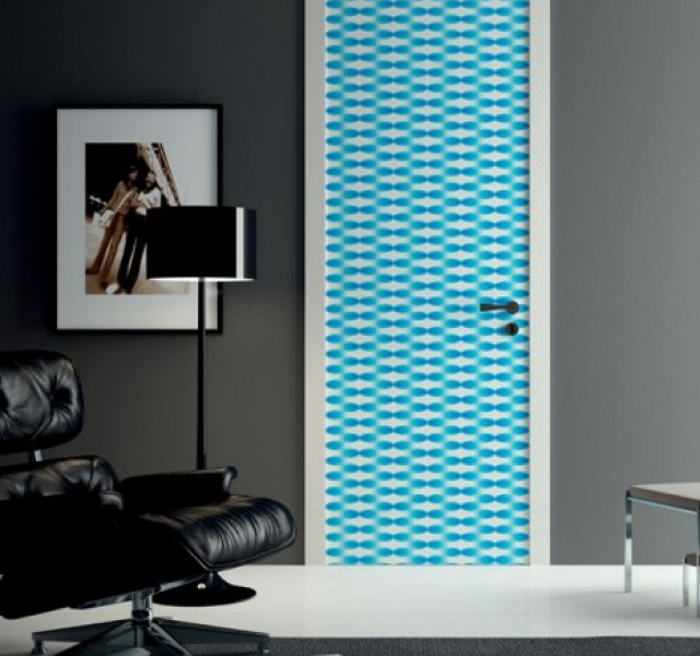 Bright-Blue-Door-design-by-Karim-Rashid