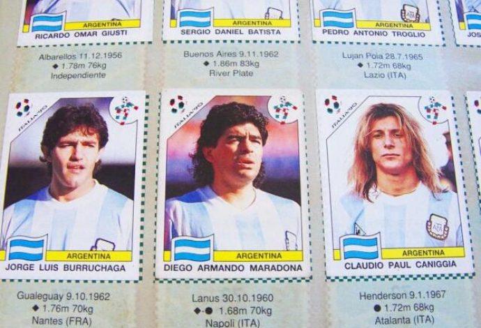 panini-world-cup-italia-90-argentina