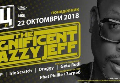 The Magnificent Dj Jazzy Jeff во Скопје