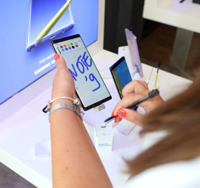 Samsung NOTE 9 Presentation